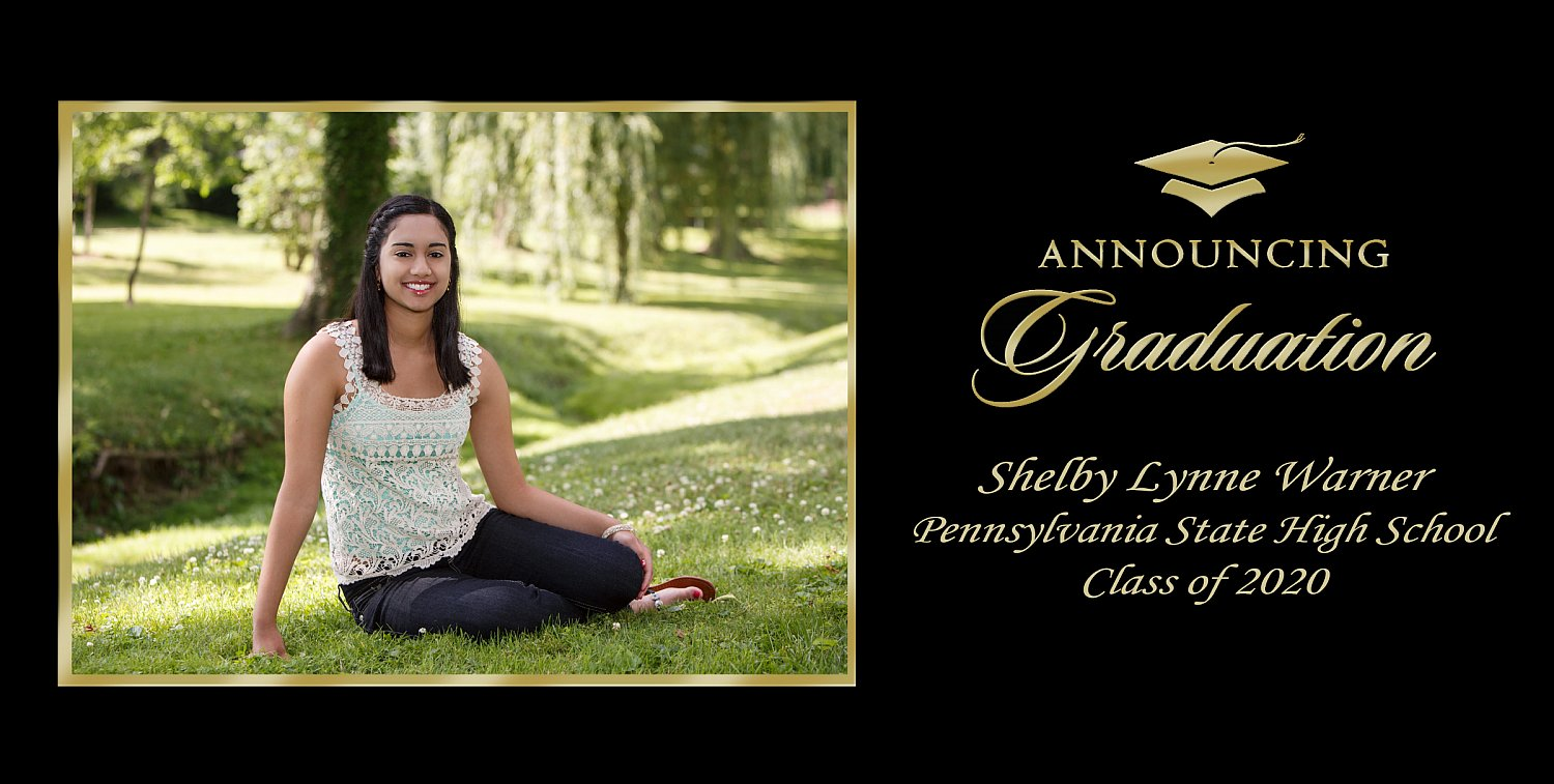 Graduation Announcement Style 3 | G3_H_Sample_2018.jpg