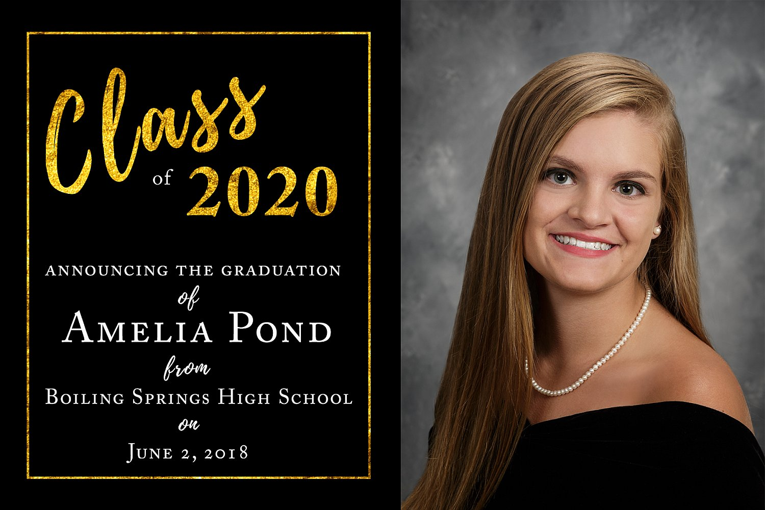 Graduation Announcement Style 9 | G9_H_Sample_2018.jpg