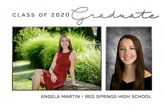Graduation Announcement Style 12