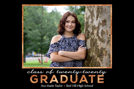 Graduation Announcement Style 11