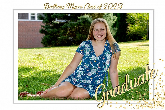 Graduation Announcement Style 14